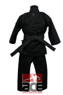 Pine Tree Heavy Weight Karate Uniform 14 oz - Black