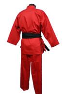Medium Weight Color Karate Uniform, Red
