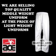 Martial Arts Karate Pants (Karate and Taekwondo), White