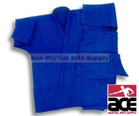 Beginnger Single Weave Blue Jujitsu Uniform