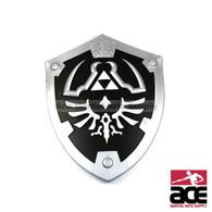 "Black Zelda Master Foam Shield for Cosplay and Larp 22"" x 17"""