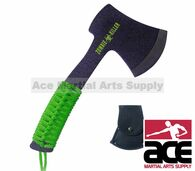 """8"""" Survival Zombie Killer Tactical Throwing Axe Single Edge with Sheath"""
