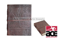 "7"" X 5"" Medieval Tree of Life Embossed Leather Journal Book"