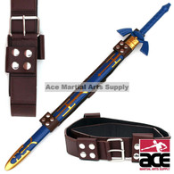 Universal Fit Sword Frog Belt Strap for Link's Master Zelda Sword Brown