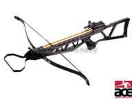 NEW ARCHERY HUNTING 185 FPS BLACK BOW Gun 120 LB CROSSBOW w/ ARROWS BOLTS