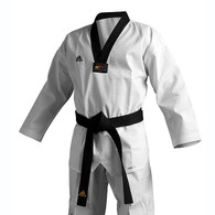 Adidas Adichamp 3 TKD Uniform, Black Lapel