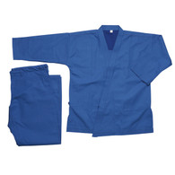 Pine Tree Heavy Weight Karate Uniform 14 oz - Blue