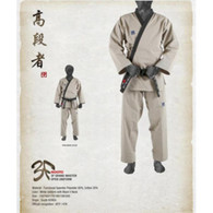 MOOTO GRAND MASTER OPEN  BEIGE TAEKWONDO UNIFORM