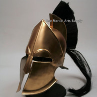 King Leonidas 300 Greek Spartan Trojan Warrior Helmet with Stand