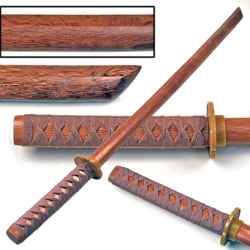 """New 34/"""" Ninja Wooden Sword Boken Kendo Kantana Practice Bokken"""