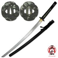 Masahiro Japanese Sword Black Cherry Blossom Katana