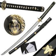 Masahiro Sword Classic Japanese Bamboo Hand Forged Samurai Katana