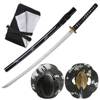 Samurai Sword Full Tang Dragon Fly ITO Katana Model 450