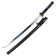 Ace Martial Arts Supply Practice Handmade Iaido Iaito Katana Sword (Unsharpened Sword)-Musha (Dancing Crane Tsuba)