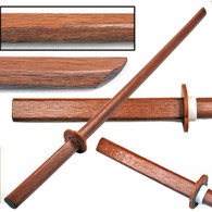 Copy of 1 Black and 1 Natural Wooden Bokens set of 2 Training Swords