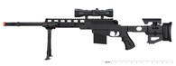 P1402 FULLY LOADED TACTICAL QUAD RIS SNIPER RIFLE (BLACK)