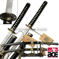 "39"" Stainless Steel Kill Bill Samurai Katana Demon & Bride Sword Set"