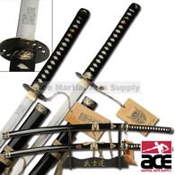"39"" Stainless Steel Kill Bill Samurai Katana Demon & Bride Sword Set"