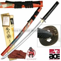 Ryumon Hand Carved and Painted Phoenix Katana - 41.5 inches