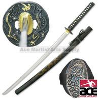 Full Tang Dragon Samurai Handmade Functional Sword