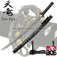 Handforged Samurai Sword - Sword of The Chrysanthemum