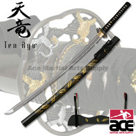 Handforged Samurai Sword - Sword of The Yellow Leaf