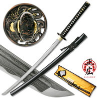 Masahiro - Folded Steel Samurai Sword - 1000+ Layers - Dragon