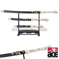 3 Pcs Highlander Connor MacLeod Katana Sword Set