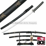 3 Pcs Last Samurai Movie Sword Set With Stand