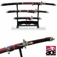 3pc Dragon Sword Set with Display