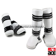 Vinyl Sparring Gear Set Shin Instep and Forearm Guard
