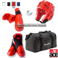 Macho Dyna Sparring Gear Set with FREE BAG