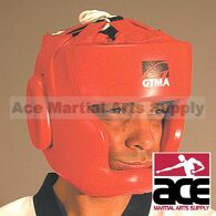 KICKBOXING HEADGEAR, GTMA LEATHER