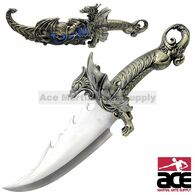 Dragon w/ Movable Wings Standing Fantasy Bowie