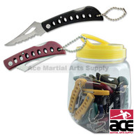 36 Pcs Lock Blade Keychain Pocket Knives
