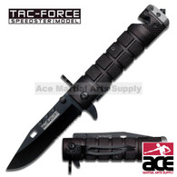 "TAC FORCE TF-636BGY 7.5"" ASSISTED FOLDING KNIFE"