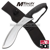 "18 1/2"" MTech Heavy Duty Kukri Machete Knife - 4.5mm Thick S.S Blade"