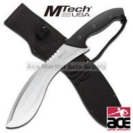 "18 1/2"" MTech Heavy Duty Kukri Machete Knife - 4.5mm Thick S.S Blade"