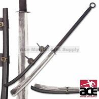 "53 1/2"" Overall Naginata Hand Forged Sword"