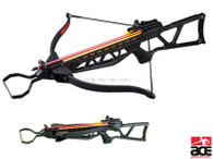 NEW ARCHERY HUNTING 220 FPS BLACK BOW Gun 150 LB CROSSBOW w/ ARROWS BOLTS