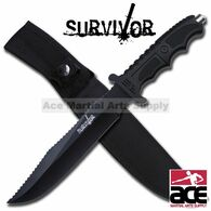 "SURVIVOR 13"" FULL SAWBACK SURVIVAL KNIFE"