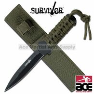 "SURVIVOR 7"" STILETTO SURVIVAL KNIFE"