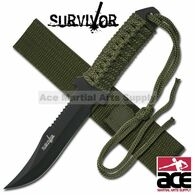 "SURVIVOR 7.5"" CLIP POINT HUNTING KNIFE"