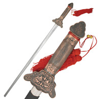 Extendable Tai Chi Sword with Scabbard
