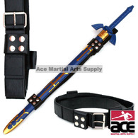 Universal Fit Sword Frog Belt Strap for Link's Master Zelda Sword Black