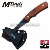 "MTECH USA 9"" WOOD TOMAHAWK THROWING AXE"