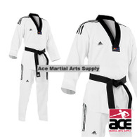 Adidas Grand Master TKD Uniform with Stripes