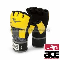 Everlast EverGel Glove Wraps Boxing Training MMA Handwraps, yellow