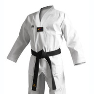 Adidas Adichamp 3 TKD Uniform, White Lapel