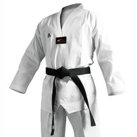 Adidas Champion II TKD Uniform, White Lapel